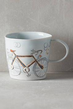 Pedal-Push Mug $44 Anthropologie