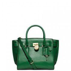 MICHAEL Michael Kors - Medium Traveler Tote Bag Gooseberry Hamilton Green - $286.40 (20% off)
