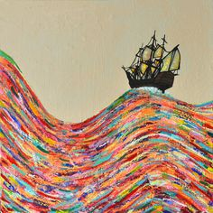 By Joshua Petker, Untitled (Sailing IV)