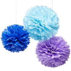 Fun, easy and cheap decoration.  These would be fun in black, white, and some polka dot or checks!