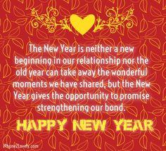 romantic new year saying