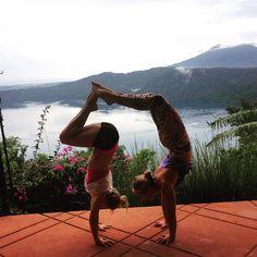 Post-rain, fresh-air flying in the clouds. #heavenly #lagunadeapoyo #nicaragua #blessed #CircAsanaYoga #everydamnday #amigas #yogainspiration #onebreathatatime #beyoutiful #love #yogaretreats #yogaeverydamnday #yogaeverywhere #circus #circasana