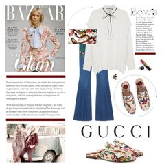 """""""Put a Bow on It!"""" by barngirl ❤ liked on Polyvore featuring Gucci and Chanel"""