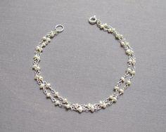 sale 10% off of original price dainty pearl bracelet tiny