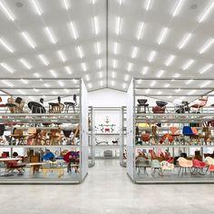 #Eames Inside Schaudepot, Basel's Vitra Design Museum