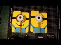 Minion Card Tutorial - YouTube