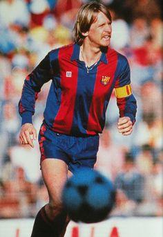 Bernd Schuster. Més que un jugador! (FC Barcelone - 80's).