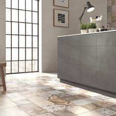 Die Küchenfliesen stehen fest!! #küche #Fliesen #Küchenfliesen #tiles #kitchen #bauherren2015 #wirbaueneinhaus #häuslebauer #abk #unika #abkceramiche #fußboden #floor #floortiles #design #style #geschmacksache #mirgefällts