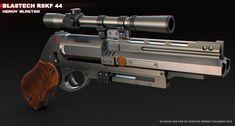 ArtStation - Blastech RSKF44 Heavy blaster, Sergey Kolesnik