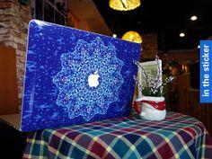 Flower Apple macbook pro decal Skin macbook air by inthesticker, $15.98