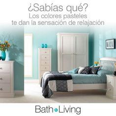 BathForLiving on Instagram: Sabías qué? Los colores pasteles te dan la sensación de...