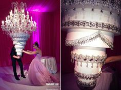 Pretty cool...Kaley Cuoco's Wedding Cake | Gravity-Defying Wedding Cakes - Yahoo Shine
