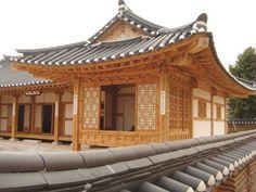 Imagine your Korea Architecture Design, Japanese Architecture, Beautiful Architecture, Korean Design, Asian Design, Traditional Japanese House, Korean Traditional, Asian House, Cabana