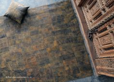 Chivaso Rug (handmade, 100% cowhide leather) http://www.therugswarehouse.co.uk/leather-rugs/chivaso-rug.html
