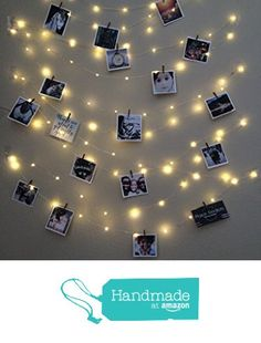 Fairy Light Photo Display, string lights from Mason Kreations