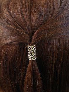Elf Queen Hair Bead Kit large vine flower by WiddershinsHairBeads