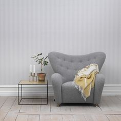 The Tired Man-by Lassen´s Iconic Scandinavian Design Armchair Tired Man, Overstuffed Chairs, By Lassen, Cozy Chair, Round Chair, Danish Design, Living Room Chairs, Modern Chairs, Cozy House