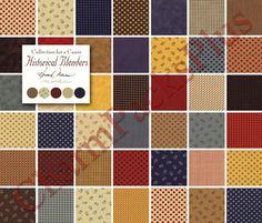 HISTORICAL BLENDERS  Moda Fabric Charm Pack  www.charmpacks.etsy.com..thank you Buggy Barn for having this wonderful fabric