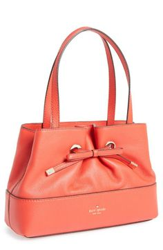 Bows are so pretty | Kate Spade leather shopper