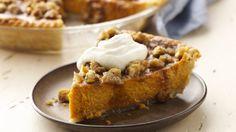 Gluten Free Maple Walnut Pumpkin Pie