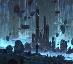 Fantastic Speed Paintings by Andi Koroveshi: http://www.playmagazine.info/fantastic-speed-paintings-andi-koroveshi/