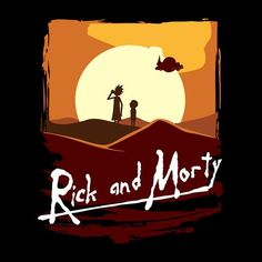 Rick And Morty Apocalypse Now Sunset
