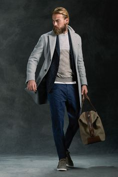 Brunello Cucinelli 2016. Men's Casual Outfit for Fall/Winter.