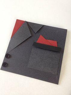 Ask a Groomsmen. Tuxedo card / Tuxedo Invitation. by CallMeCraftie