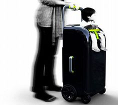 Intelligent design tinkering makes Move On luggage must for traveling - Designbuzz Suitcase Bag, Suitcase Packing, Materiel Camping, Best Carry On Luggage, Kids Luggage, Trolley Case, Intelligent Design, Life Design, Automotive Design
