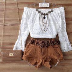 • Cropped de renda ombro a ombro manga flare R$: 99,00 • Short jeans camel cós baixo (acompanha cinto) R$: 89,00 • Colar R$: 49,00.  Apenas varejo.  Vendas online através do site:  www.lalet.com.br (Link clicável na bio) Pagamento ↠ Cartão ou boleto.  Vendas Whatsapp: ✆ (62) 9278-4098 ↠ Depósito ou transferência.  E-mail: laletloja@gmail.com  Telefone fixo: ☏ (62) 3291-0640  Horário de funcionamento da loja: Terça a sexta das 09:00 ás 19:00. Sábado das 08:00 ás 20:00. Domingo das 08:00