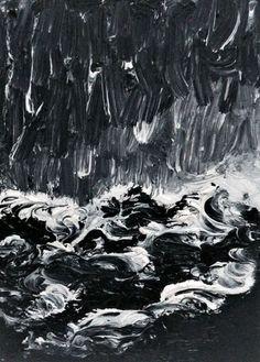 "Juliet Jardin | ""Waves"" 21.04.2014, oil on canvas"