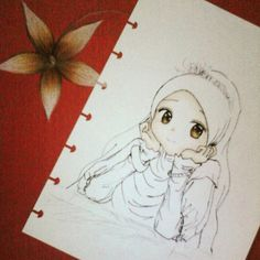 muslimah work in progress by Azhelic on DeviantArt Cartoon Illustration, Islamic Art, Drawings, Cute Cartoon, Art, Anime Muslim, Cute Cartoon Wallpapers, Cute Drawings, Muslim Images