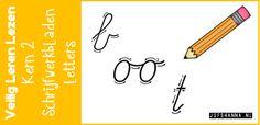In deze blog vind je de schrijfwerkbladen passend bij de letters die in kern 2 van Veilig Leren Lezen aan bod komen! Elke letter is los te downloaden!