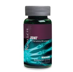 The High Potency CM Complex in Kenzen Joint is an advanced formulation that nutritionally supports collagen, bone and connective tissue repair. This formula has a high concentration of cetyl myristoleate and combines this with glucosamine, methylsufonylmethane and compounds from the boswellia plant, which has long been used in Ayurvedic and other complementary practice.*