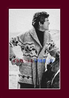 Cowichan White Buffalo Wool Knitting Pattern  by KilbellaVintage