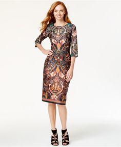 eci-orange-mirror-print-paisley-print-midi-sheath-dress-orange-product-1-939401856-normal.jpeg (1320×1616)
