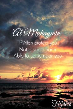 hijabiz:  Protector is One, Allah  The Protector The Guardian  The One Who Overseeing  The One Who Offer Security  Allah is Al…  View Post
