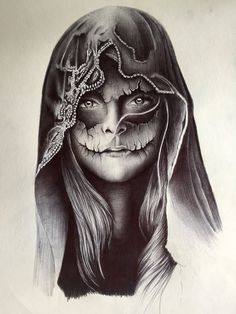 """Decay by wtreganart on DeviantArt Commissioned design, based on Hamlet's phrase, """"to be or not to be"""" Graphite on Bristol. Skull Girl Tattoo, Skull Tattoos, Body Art Tattoos, Sleeve Tattoos, Tatoos, La Muerte Tattoo, Catrina Tattoo, Tattoo Sketches, Tattoo Drawings"""
