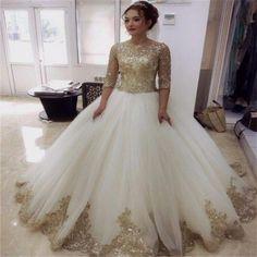 white-gold-wedding-dress-online-shopping-the-world-largest-white.jpg