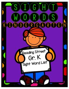 Kindergarten Sight Word Practice from Curriculum to the Core on TeachersNotebook.com -  (43 pages)  - Kindergarten sight word practice for Reading Street Curriculum