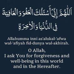 Dua for forgiveness Quran Quotes Love, Quran Quotes Inspirational, Wisdom Quotes, Quotes Quotes, Motivational Quotes, Life Quotes, Muslim Quotes, Religious Quotes, Islamic Teachings
