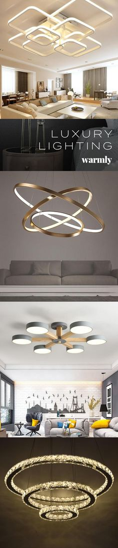 Modern Luxury Lighting at Off (or more) rnrnSource by warmlydecor
