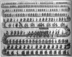 Coronation-Procession of Elizabeth (1740)