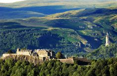 Stirling Castle  One of the largest and historically important castles in the whole of Scotland!