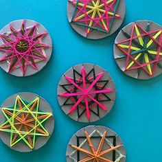 Craft Activities for children - Mini Mad Things Diy Crafts For Kids, Projects For Kids, Art For Kids, Craft Projects, Arts And Crafts, Christmas Decorations For Kids, Star Decorations, Christmas Tree, Weaving For Kids