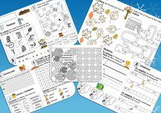 Plan de travail pour les premières années - Quelques idées d'activités à faire quand les enfants ont fini.