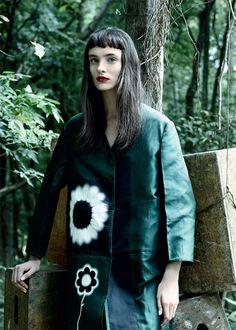 Editorial Maxi Natura - Harper's Bazaar Brasil - Julho 2013