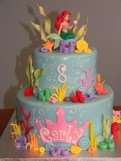Ariel Little Mermaid Cake — Children's Birthday Cakes