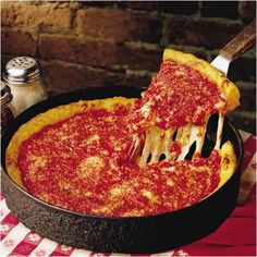 This Chicago favorite includes 3 different varieties of - Deep Dish Gino's East Pizzas and will be perfect at your next party!