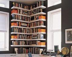9 Small Space Bookshelf Solutions - Retreat by Random House